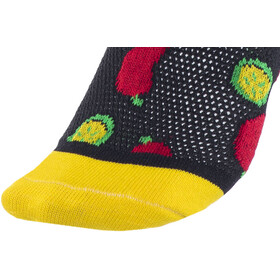 "DeFeet Aireator 6"" Chaussettes, taco tuesday/black"